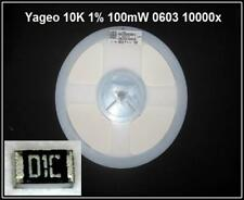 SMD Resistor Resistance 10k 10 Ohm 0603 1% 0,1w 10000x 1 xrolle