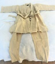 White Tiger Judoanzug 100% Baumwolle Gr. 5 - 190 cm Jacke Hose Gürtel