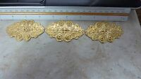 raw brass stamping finding CENTERPIECE EMBELLISHMENT  wow!!  A151