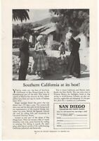 1960 Vintage Ad Southern California At Its Best San Diego