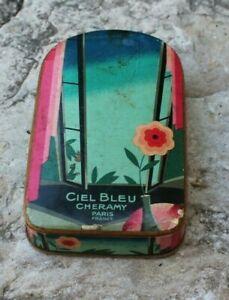 Ancienne boite ou coffret vide pour cheramy paris  (parfum)