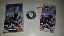 * Sony Playstation PSP Game * MONSTER HUNTER PORTABLE 2 * JAPANESE JAP
