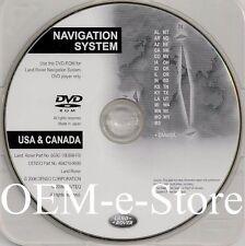 2007 to 2010 Land Rover LR2 SE HSE Navigation DVD WEST Coast U.S Canada Map