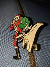 Jack Skellington Santa Jack Hat Pin Nightmare Before Christmas NBC Lapel Button