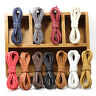 NEW Round Thin Waxed Cord Dress Leather Shoes Strings Work Boot Sport Shoe Laces