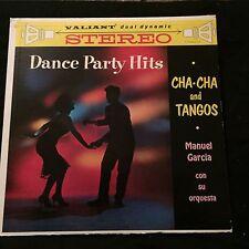 Manuel Garcia Dance Party Hits Cha-Cha and Tangos 1960 Stereo Original