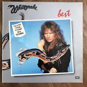 Whitesnake 'best...' LP 1987 -Made in Greece-