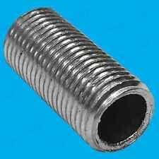 100x M10 20mm x 10mm Allthread Hollow Threaded Rod Tube Electrical Lamp Socket