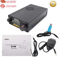 XIEGU G1M QRP HF Transceiver SDR Transceiver Multi-band SSB CW AM Modes os12