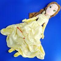"Disney Store Beauty & the Beast BELLE 20"" Stuffed Plush Doll Movie Toy"