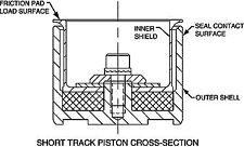 "Wilwood 200-5269 - Thermlock Short Track Piston 1.62"""