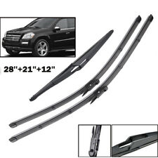 Front Rear Windshield Wiper Blades Fit For Benz R GL M ML Class W251 W164 X164
