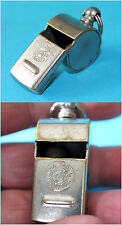 Vintage Czechoslovakia Solid Brass Whistle 1960's