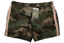 NEW VALENTINO GARAVANI CAMOUFLAGE ROCKSTUD  BEACH SHORTS TRUNKS W/BAG  50