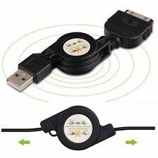 Retractable USB Data Sync&Charger Cable for iPod iPhone 4S 4 3GS 3G Touch nano