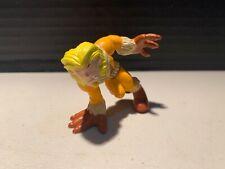 Marvel Super Hero Squad SABRETOOTH figure yellow & orange costume X-Men villain