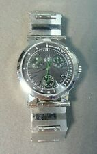 Unique Men's Movado VIZIO Green and Black Stainless Steel Watch! Model 84 C5 898