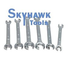 """New 6 pc SAE/Metric Line/Flare Nut Wrench Set 3/8-11/16"""",10-17mm"""