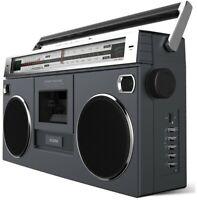 Ion iSP1121BK Street Rocker Bluetooth Retro Portable Boombox Black [Ne