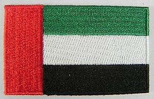 V. A.E.Embroidered Patches, Flag, Patch, Iron-On, 6,5cm, New