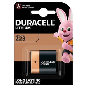 1er Blister Duracell 223 Lithium 6V CR-P2