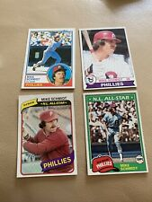 Topps Mike Schmidt Cards Excellent Condition 1978,79,,81