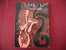 Maroon 5 - Songs about Jane . Songbook Notenbuch Piano Vocal Guitar PVG