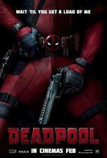 """MARVEL  """" Deadpool """" Movie Poster  Mutant  X-men Fridge Magnet 4""""x6"""" Decor #1"""