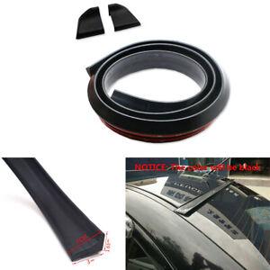 1.5M Black Rubber Wing Lip Spoiler For Car Spoiler/Roof/Hatch Gate/Trunk/Bonnet
