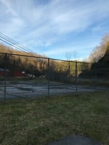 Chainlink Fence Galvanized Yard Security