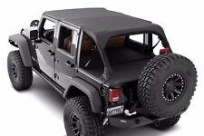Smittybilt Extended Top in Black Diamond 2010-2017 4dr Jeep Wrangler JK 94635