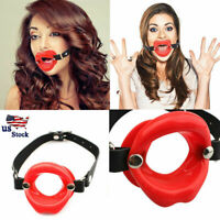 1030 2 INCH The Original SUPER GRIP RING GAG™ Made in USA RED RING