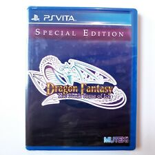 Dragon Fantasy: The Black Tom Of Ice Special Edition PlayStation Vita New Sealed