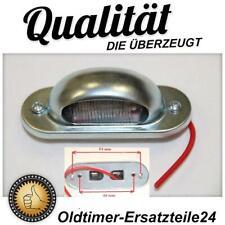 Universal Oldtimer KFZ Kennzeichenleuchte Nummernschildbeleuchtung Lampe Leuchte