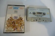 THE MUSIC FOR UNICEF CONCERT K7 AUDIO TAPE ABBA BEE GEES DONNA SUMMER EWF...