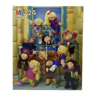 Vintage Cabbage Patch Kids 24 Piece Puzzle | Milton Bradley | 1990 | Complete