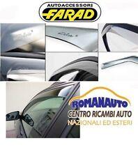 DEFLETTORI ARIA FARAD RENAULT CLIO 4 dal 2012 in poi 5 PORTE Anteriori Antivento