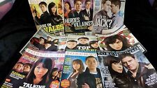 Lot of 9 Torchwood Official Magazines -- RARE - Good Condition - Must See!