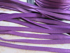 "10 yard Satin Stretch/Elastic Band 1/4"" Trim 6mm/Spandex Sewing/Lace T174-Purple"