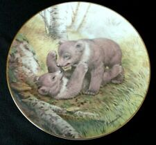 Assiette en porcelaine the forest year Ours Mai