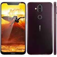 Nokia 8.1 Smartphone-Iron (Sbloccato) Dual SIM, 4GB/64GB, impronta digitale, 20MP UK