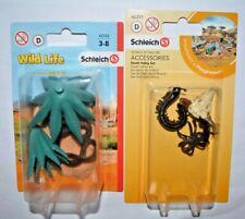 Schleich Wild Life Safari/ Nest der schwarzen Mamba 42322+Death Valley Set 42251