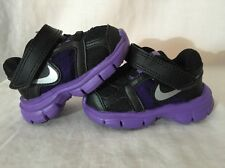 Nike Fusion Baby Toddler Size 2c Purple And Black