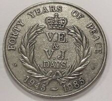 Medal FORTY YEARS OF PEACE 1945-1985 The royal british legion