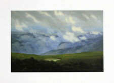Caspar David Friedrich ugello nuvole poster immagine di stampa d'arte 30x40cm