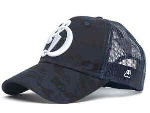 "HC Dynamo Moscow ""Classic"" Camo KHL Trucker Hat, snapback"