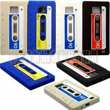 FOR SAMSUNG GALAXY S2 CASSETTE TAPE SOFT SILICONE CASE S II i9100 AND i777