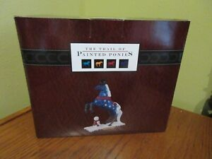"""THE TRAIL OF PAINTED PONIES """"JACK FROST"""" #4046333 ORIGINAL BOX AND COA"""