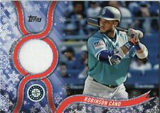 2018 Topps Walmart Retail Holiday Relic Card ROBINSON CANO Mariners Mets #R-RC