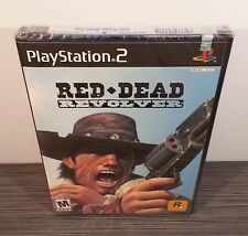 Red Dead Revolver (PS2) BRAND NEW. Rare 1st Print. Near-Mint